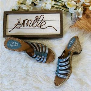 Life Stride Heeled Sandal 6.5